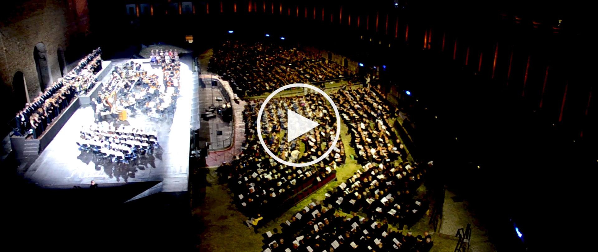#portfolio #video #marche #expo2015 #sferisterio