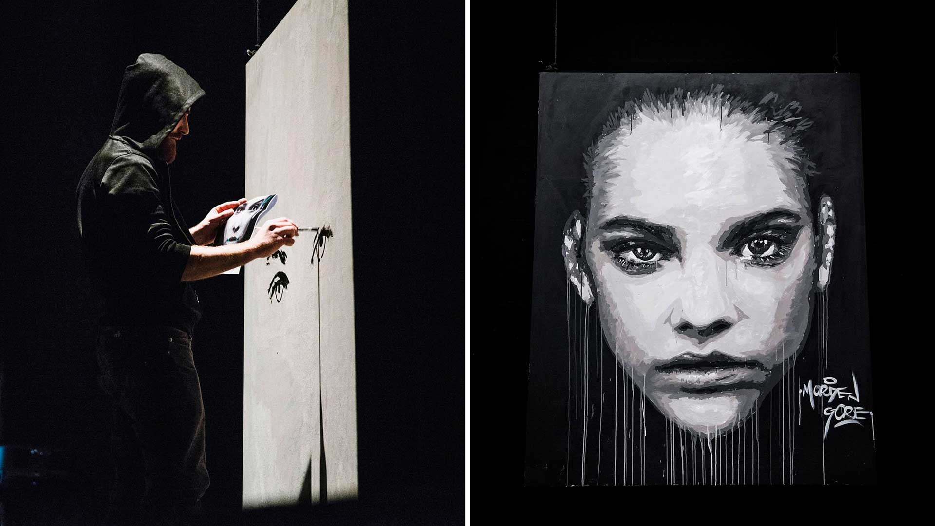 macerata, street art, morden gore