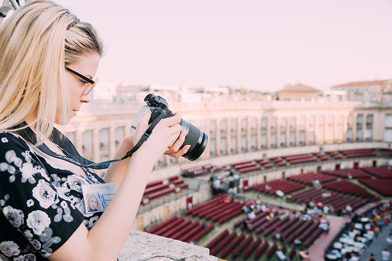 servizi, Macerata opera Festival, alia simoncini videomaker