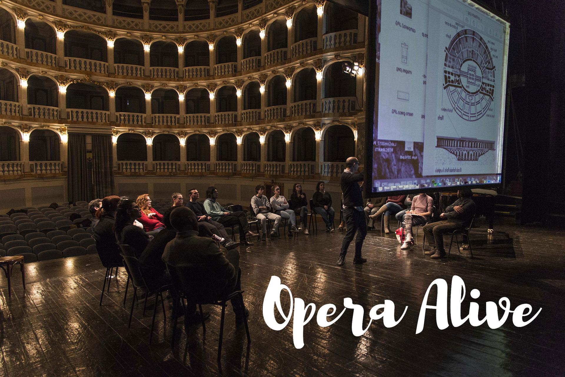 Opera Alive, alia simoncini videomaker